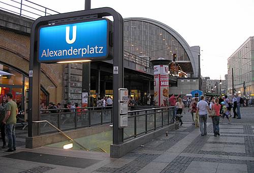 u bahnhof alexanderplatz rome - photo#30